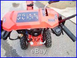 Simplicity H1226e 26 Snowblower Two Stage 1696236 used electric chute deflector