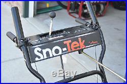 Sno-Tek #920403 28'' 2-Stage 9.5HP Snowblower Local Pickup NJ