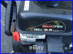 Sno-Tek Snow Blower 28 208cc $600