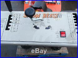 Snow Beast 30SBM15 302cc 2Stage Electric Start Gas Snow Blower $1,349.00