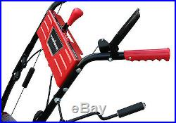 Snow Blower Thrower Gas Powered Electric Start 24 In 2 Stage Home Winter Safety
