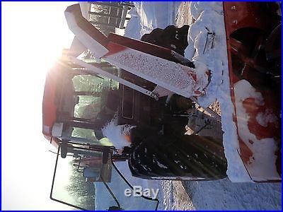 Snow Blower, Tractor, Bucket