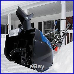 Snow Joe 18-Inch Electric Snow Thrower 15 Amp Motor Headlights Refurbished