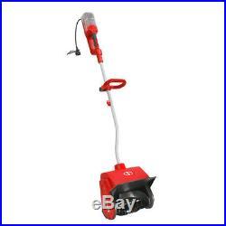 Snow Joe Cordless & Electric Hybrid Snow Shovel 40V 2.0 Ah 13-Inch (Red)