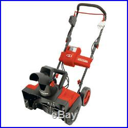 Snow Joe Cordless Single Stage Snow Blower 18-Inch 5 Ah Battery Brushless
