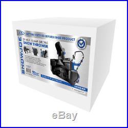 Snow Joe Electric Snow Thrower 21-Inch 15 Amp Certified Refurbished