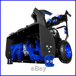 Snow Joe ION8024-CT Cordless Two Stage Snow Blower 24-Inch 80 Volt 4-Speed