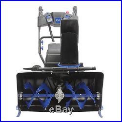 Snow Joe ION8024-XR 24-Inch 80 Volt 2x5 Ah Batteries Cordless Two Stage Snow Bl