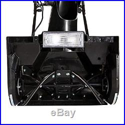 Snow Joe SJ623E Electric Snow Thrower 18-Inch 15 Amp Motor Headlights Blue