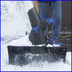 Snow Joe SJ624E Electric Single Stage Snow Thrower 21-Inch 14 Amp Motor Blue