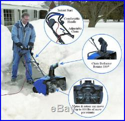 Snow Joe Ultra SJ620 18 13.5A Electric Single Stage Heavy Snowfall Snow Blower