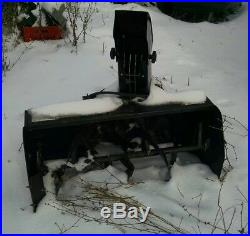 Snow blower attachment Ber-Vac JD 1040 / 2040 40 Gas 2 Stage USED
