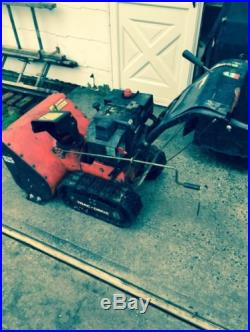 Snowblower, 2 Stage, 8 Horsepower, Track Drive, Just Serviced Runs Great