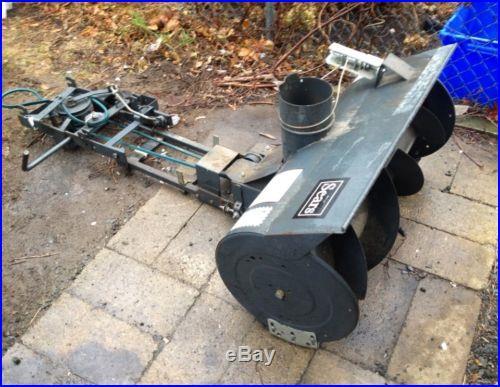 Craftsman Snowblower Attachment : Snow blowers lawn