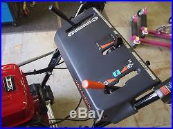 Snowblower Honda HS1132 Slightly Used, Electric Start