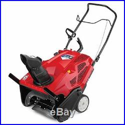 Squall 2100 208Cc 4-Cycle Electric Start Single-Stage Snow Thrower MTD Products