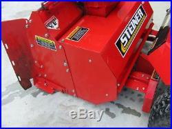 Steiner Sb348 Two Stage Snow Blower Attachment For Steiner Tractors. 48. Nice