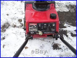 TORO CCR POWERLITE GAS SNOWBLOWER / SNOW BLOWER, ELECTRIC START, CLEAN