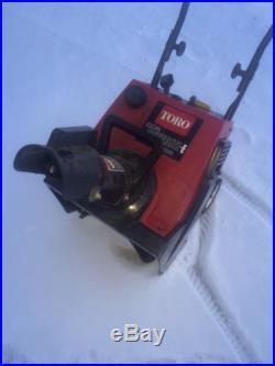 TORO CCR POWERLITE SNOWBLOWER PULL START Snow Blower