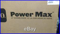 TORO Power Max 24 gas powered snowblower 37779 724oe