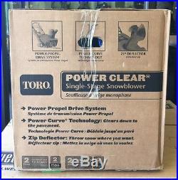 TORO Snow Blower POWER CLEAR 721 QZE (SPG010377)