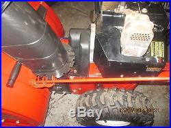 TROY BILT STORM snow blower 26 8.5HP TECUMSEH ENGINE SNOW KING 2stage blower