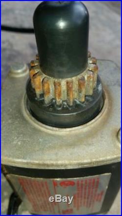 Tecumseh Electric Starter 33329 33329C 33329D 33329E 37000