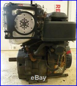 Tecumseh Ohv Ohm90-222304c 9 HP Electric Start Horizontal Shaft Engine Used
