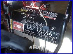 Toro 1332 powershift electric start light 38592