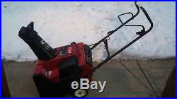 Toro 2000E electric start snowblower snow blower
