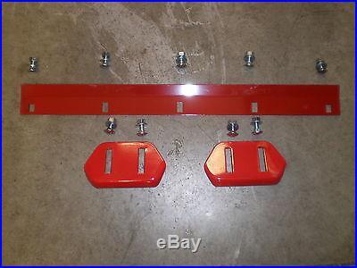 Toro 3521, 421, 521 Snowblower Skids & Scraper Bar with mounting hardware