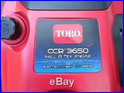 Toro 3650 Snowblower Snow Blower Snow Thrower 6.5hp Electric Start