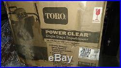 Toro 38744 21 Snow Blower model 721QZE electric start gas power self propelled