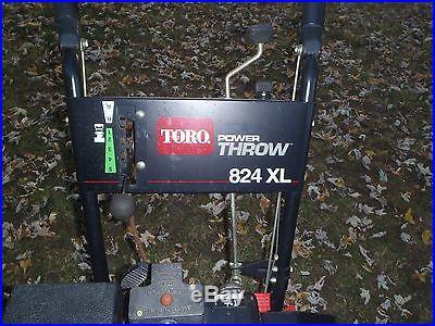 Toro 824 XL Snow Thrower