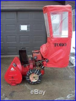 Toro 826 Snow Blower Electric Start Briggs & Stratton 8-HP