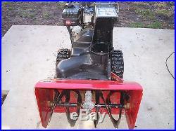 Toro 826 powermax snowblower