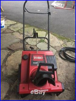 Toro CCR 2000 Snow blower