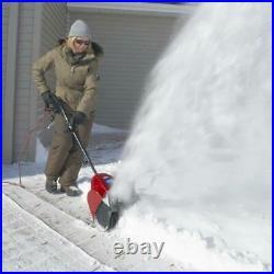 Toro Electric Power Shovel Snow Blower 12 in. 7.5 Amp Cord Lock Chute Control