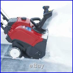Toro Gas Snow Blower 18 in. W 99cc Single-Stage Chute Control Wheel Drive