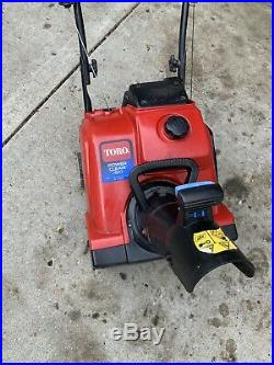 Toro Power Clean 180 Gas Snow Blower With Electric Start 1Single Stage