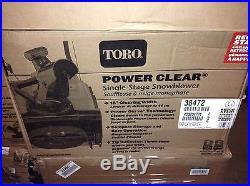 Toro Power Clear 518 ZR 18 in. Single-Stage Gas Snow Blower