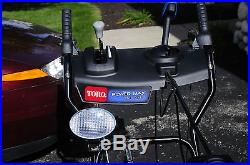 Toro Powermax 826 oxe #37781 Two Stage Snowblower 252cc OHV 4 Cycle 26 Inch
