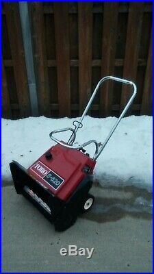 Toro S-620 3 hp single stage snowblower snow blower. Chicagoland Pick up only