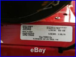 Toro Snow Blower 8HP 24 Inch Two Stage Electric Start Just Serviced Runs Good