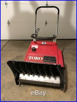 Toro Snow blower gas (electric start)