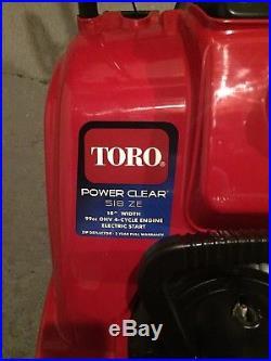 Toro power clear snowblower