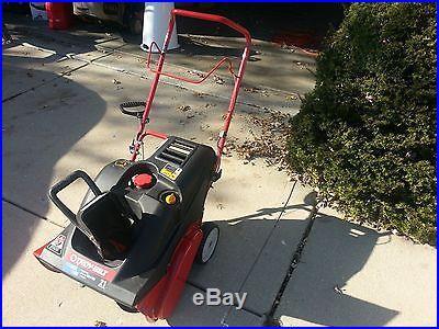 Troy-Bilt 2100 Snow Squall Snowblower Electric Start