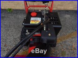 Troy Bilt 26 3 Stage Vortex Snow Blower Electric Start Electric Chute