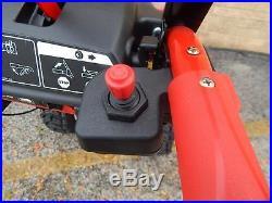 Troy Bilt 30 3 Stage Vortex Snow Blower Electric Start Electric Chute 420cc