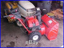 Troy-Bilt 9528 / 28 / 2 Stage Snow Blower with Electric Start (very nice)